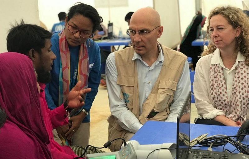 UNHCR's international protection chief in Bangladesh for talks on seeking solutions and sustaining support to the Rohingya refugee crisis