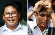 Jailed Reuters journalists win Pulitzer for uncovering Rohingya massacre