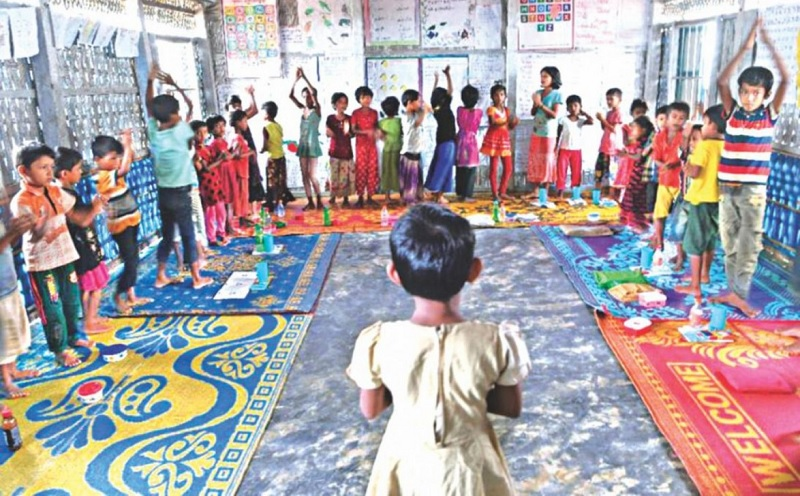 A clarion call for education in Rohingya refugee camps