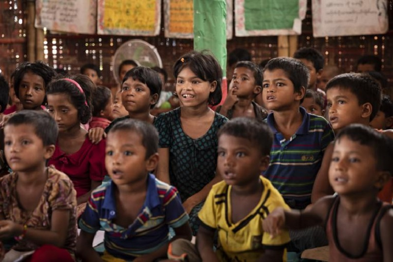 Shortfall in education opportunities deepens despair of refugee Rohingya youth