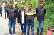 Manipur: Four Rohingya men deported to Myanmar