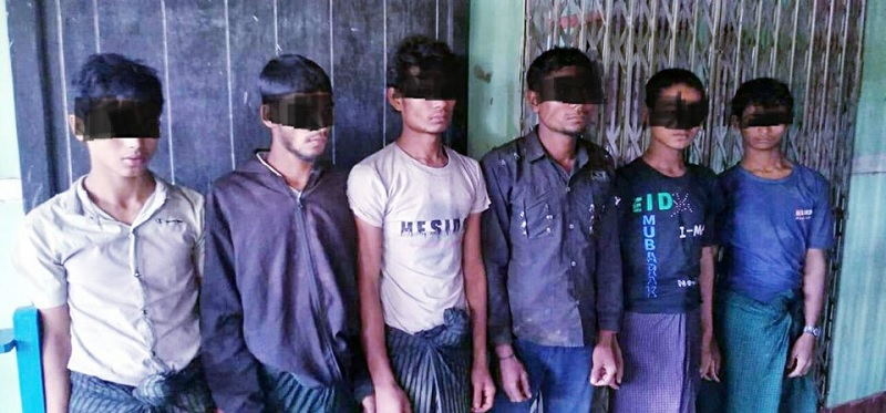 Six Rohingya Arrested Without Travel Documents in Magwe