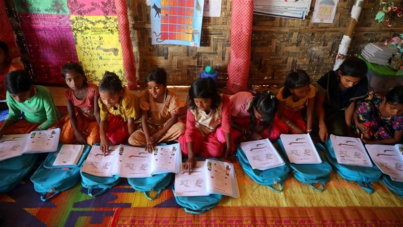 'Great news': Bangladesh allows education for Rohingya children