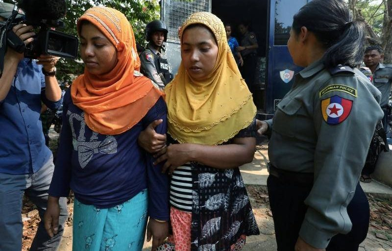 Dozens of Rohingya face charges for illegal travel in Myanmar after fleeing Rakhine state