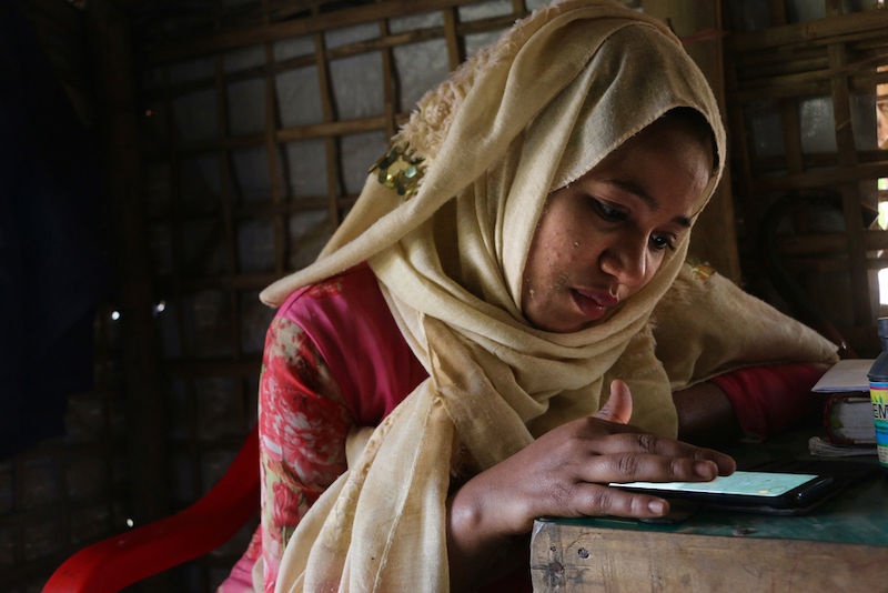 For Rohingya refugees, internet ban severs ties to the outside world