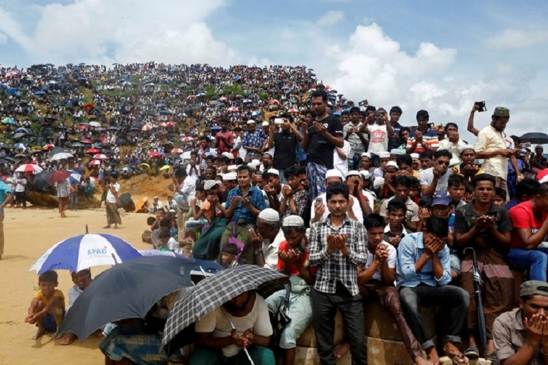Virus can cause havoc in Rohingya camps