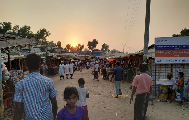 UK raises pandemic donations for displaced people including Rohingyas