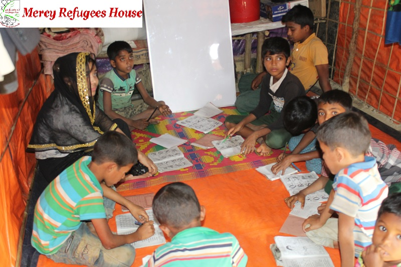 Education and Skills Development Could Make the Rohingya Community Grow Manpower: Team Mercy Refugees House