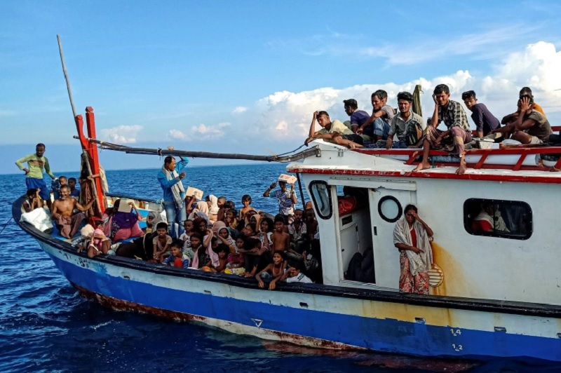 UN appeals for rescue of Rohingya adrift in Andaman Sea