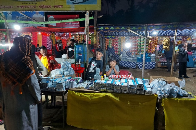 Food for Rohingyas being sold illegally