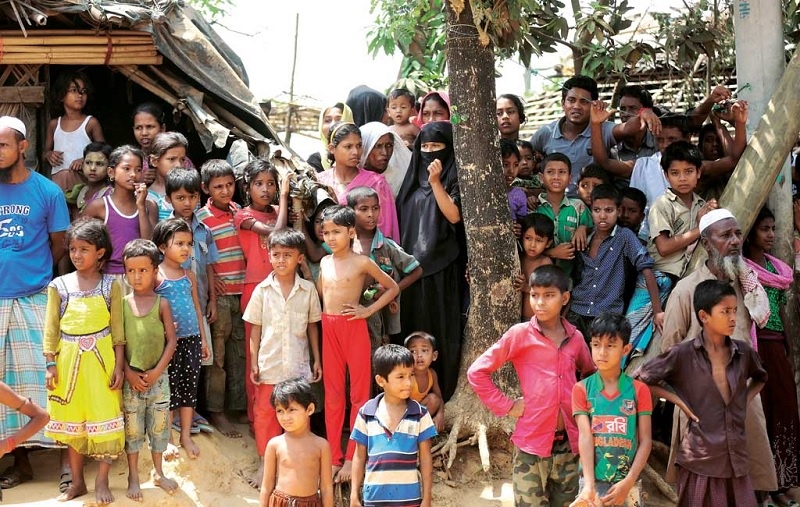 Bhashan Char better for living but focus must be on Rohingya return